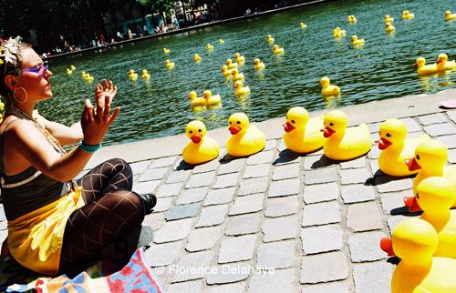Festival du Bassin de la Villette 2005, Yellow Peace