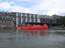 inauguration de Paris Plage sur le Bassin de la Villette 2007
